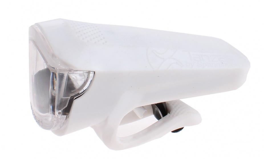 Spanninga voorlicht Tanza oplaadbaar led 8 cm wit