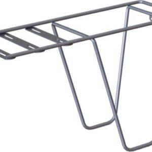 Steco bagagedragerverlenger Tas mee staal zilver