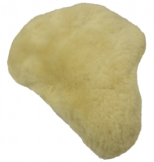 TOM zadeldekje schapenvacht 31 cm beige