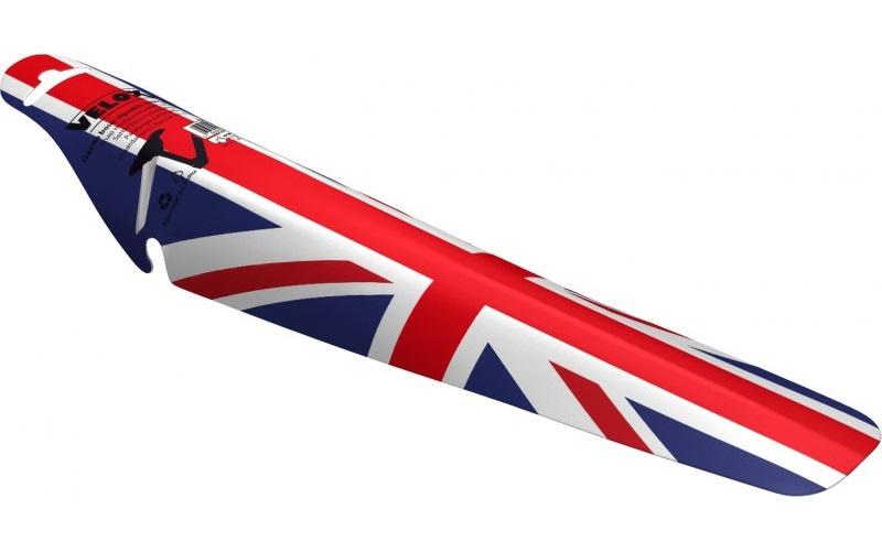 Velox Ass Saver achterspatbord UK rood/wit/blauw