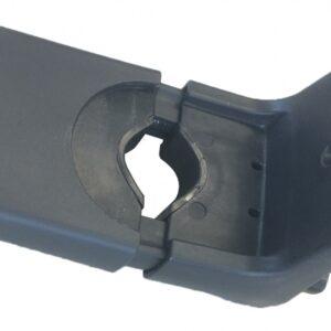 Yepp - Mini Fietszitje Slim Fit Adapter Zwart Kunststof