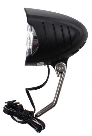 Falkx koplamp Er9a naafdynamo zwart
