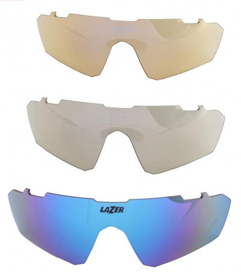 Lazer lenzenset fietsbril M3 Eddy blauw 3 delig