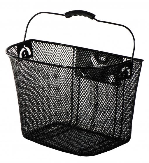 AMIGO fietsmand 13 liter voor staal zwart