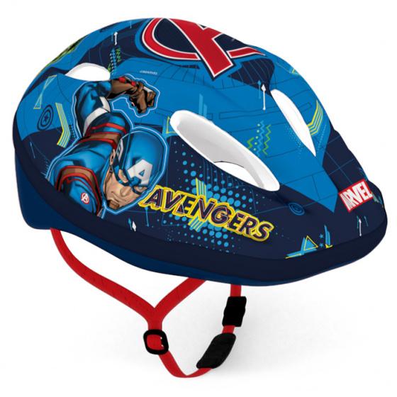 Disney kinderhelm Avengers jongens blauw maat 52 56