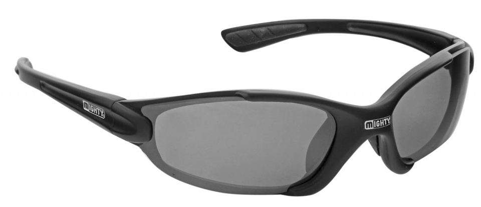 Mighty sport en fietsbril verwisselbare glazen unisex zwart