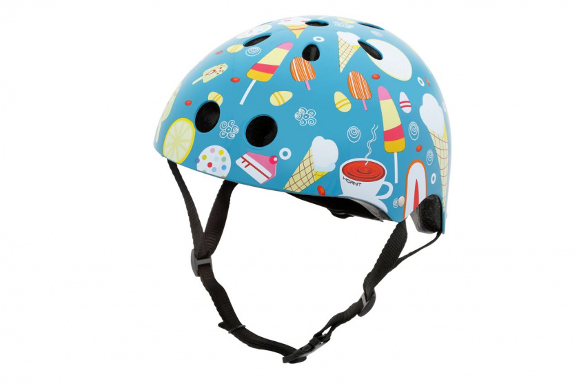 Mini Hornit Lids kinderhelm Head Candy junior blauw maat S