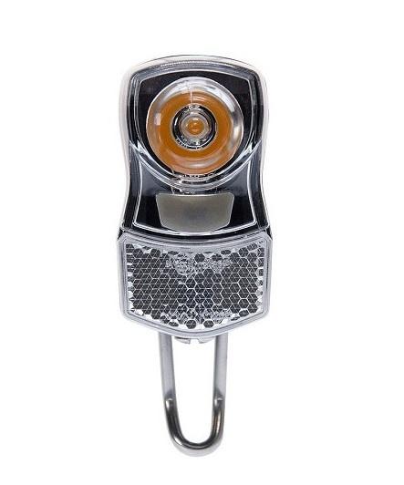 Simson koplamp Clearly led 7 lux batterij zwart
