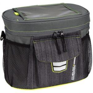 Starling stuurtas Ovaal 10,7 liter grijs/groen