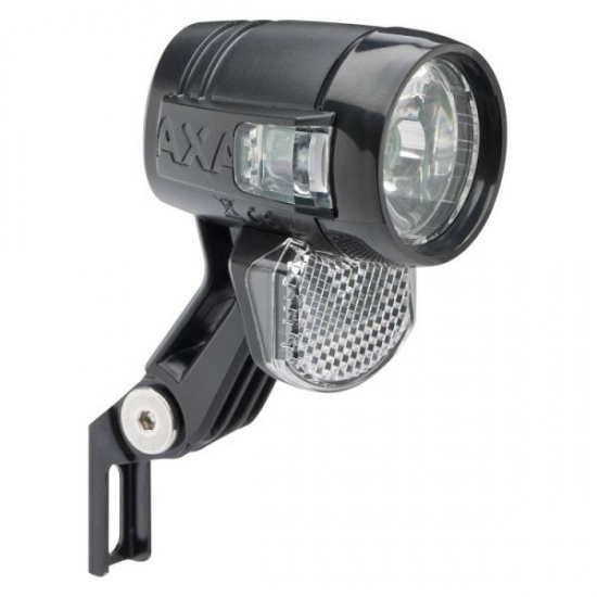 AXA koplamp Blueline 30 E E bike zwart