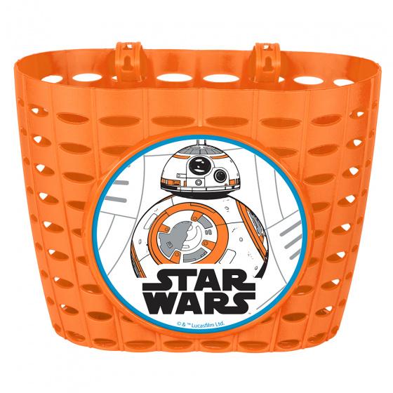Disney fietsmand Star Wars BB8 junior 20 cm oranje