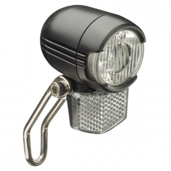 Falkx koplamp EL6D E Bike led zwart