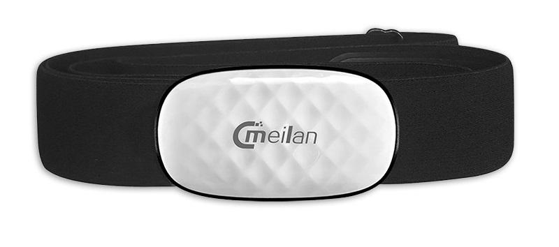 Meilan hartslagmeter Bluetooth zwart one size