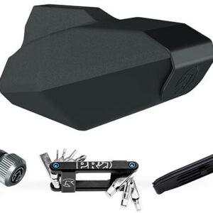 Pro zadeltas Combipack DM Minitool 8 0,6 liter zwart 4 delig