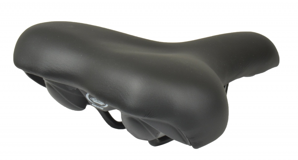 Selle Monte Grappa zadel Nevea 260 x 205 mm dames zwart