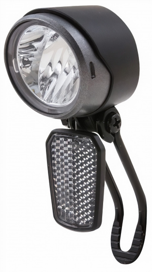 Spanninga koplamp X&O 30 e bike led matzwart