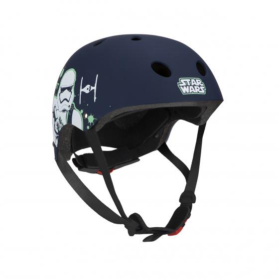 Disney fietshelm Stormtrooper jongens zwart maat 54/58 cm