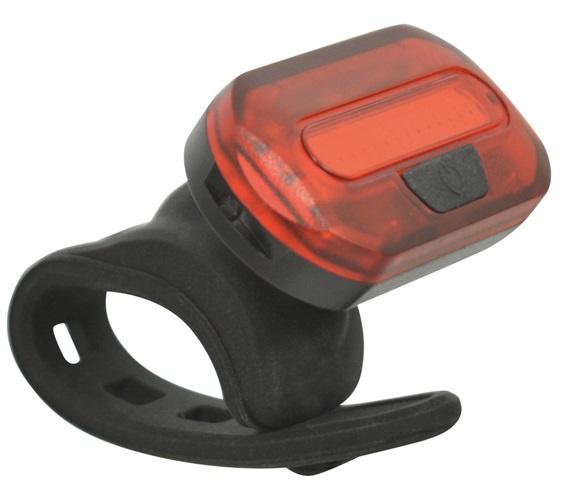 Dresco achterlicht COB led batterijen rood