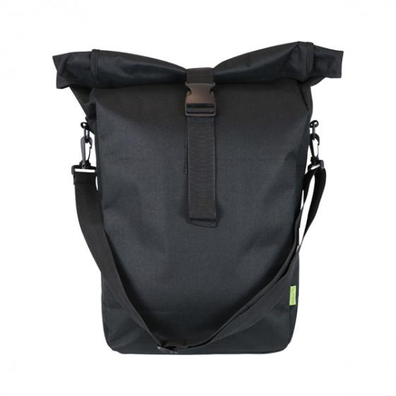 Dresco pakaftas Trendy Shopper 20 liter nylon zwart