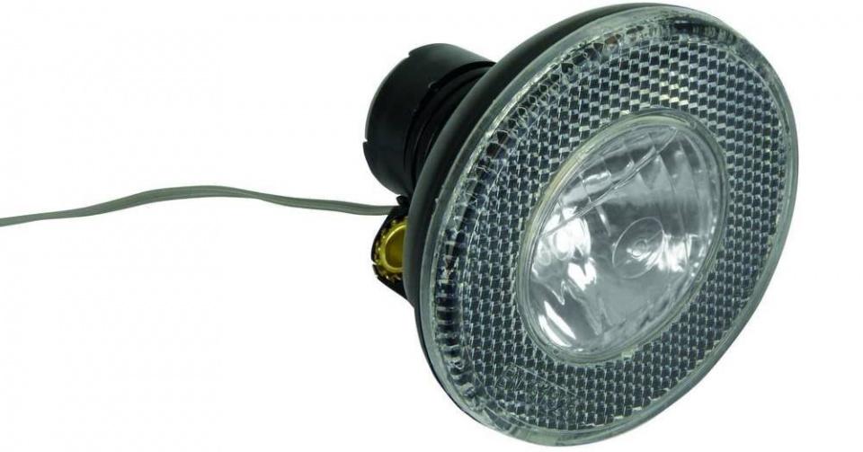 Dresco voorlicht Dynamo 10 lux 8 cm zwart