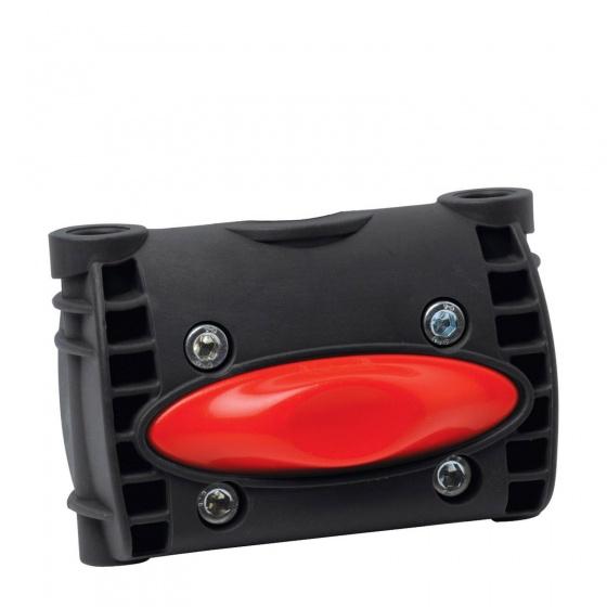 Polisport - Adapter Achterzitje 10 Cm Framebevestiging Zwart
