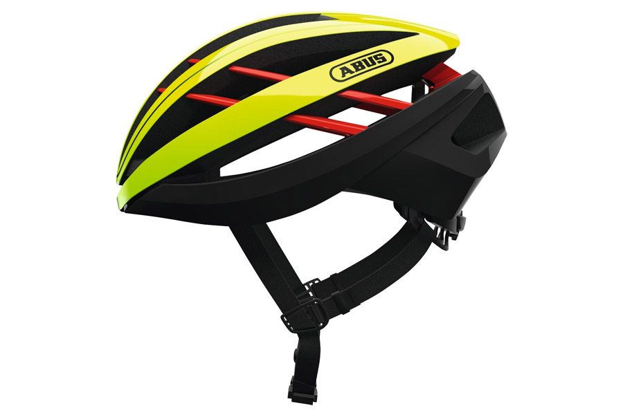 Abus Aventor Helm Neon Yellow