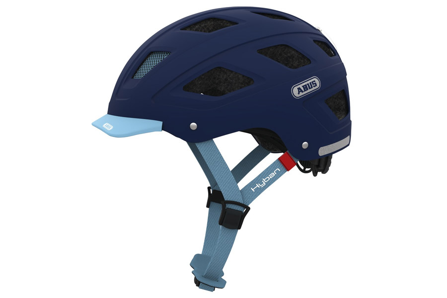 Abus Hyban Core Helm Blue
