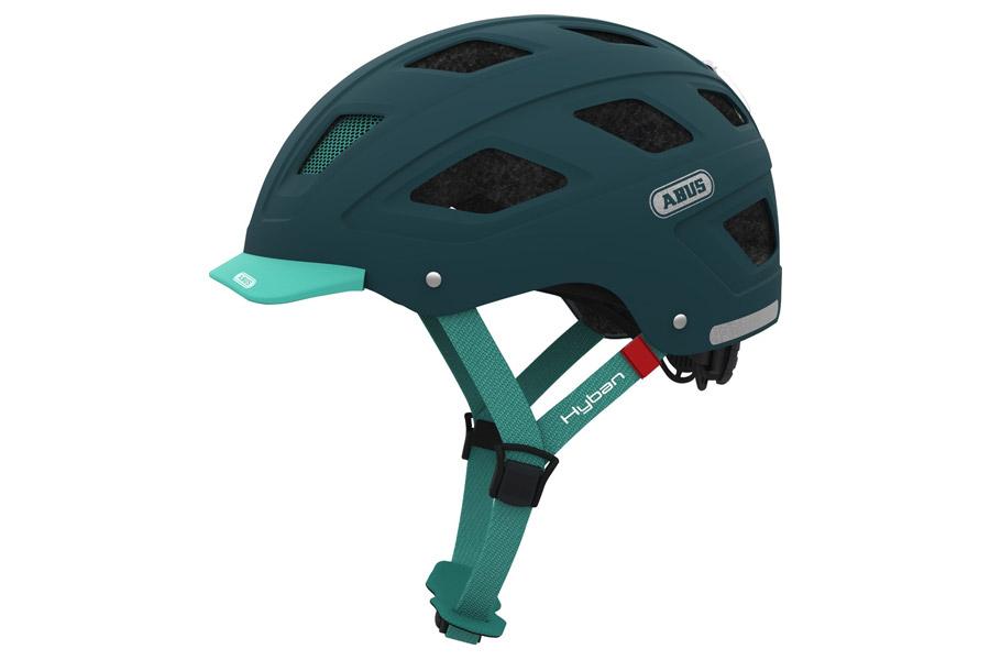 Abus Hyban Core Helm Green