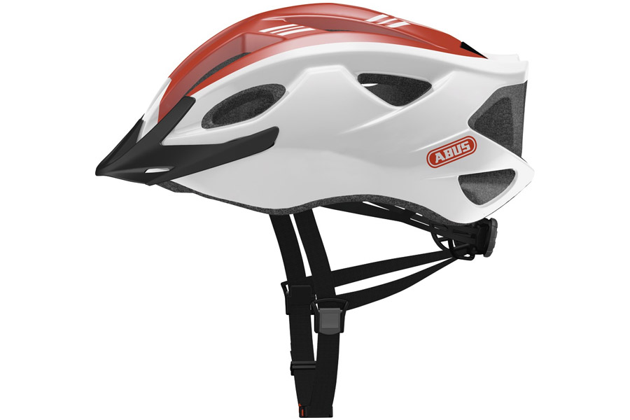 Abus Hyban S-Cension Race Helm - Rood