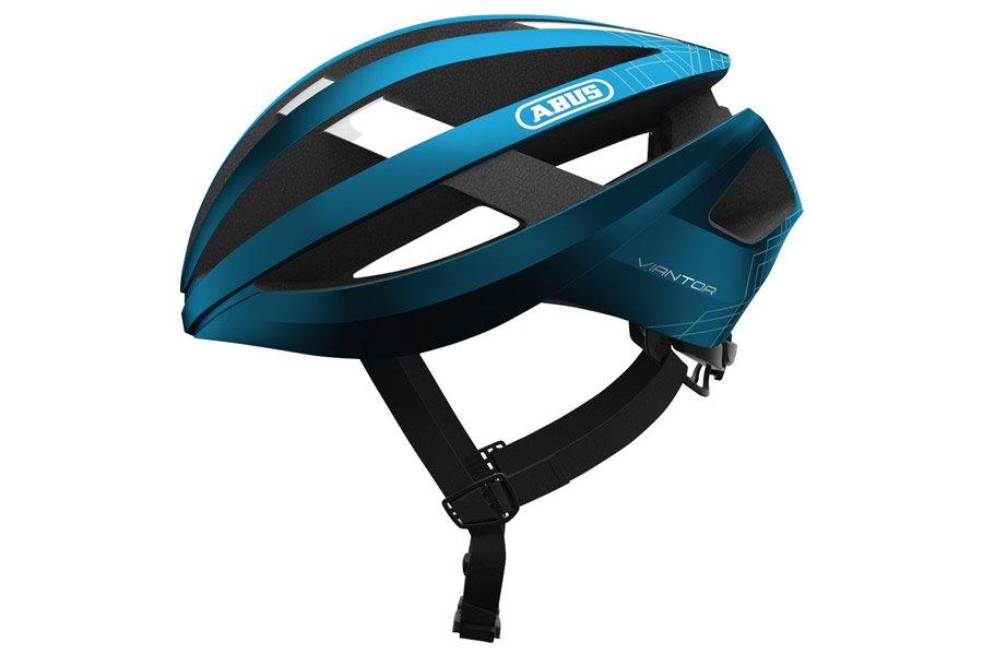 Abus Viantor Helm Steel Blue
