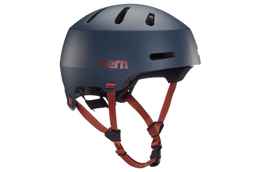 Bern Macon 2.0 Helm - Matte Navy