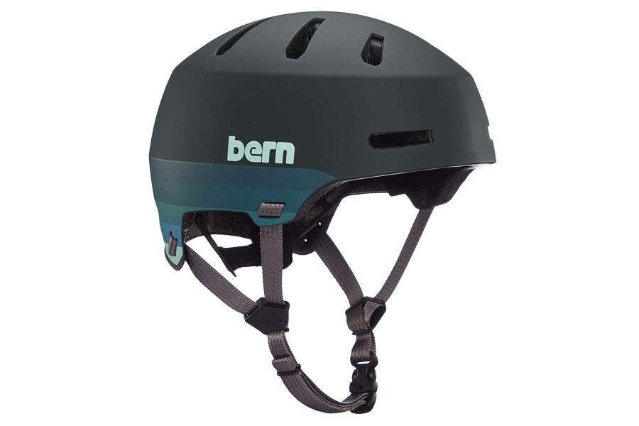 Bern Macon 2.0 Helm - Matte Retro Forest Green