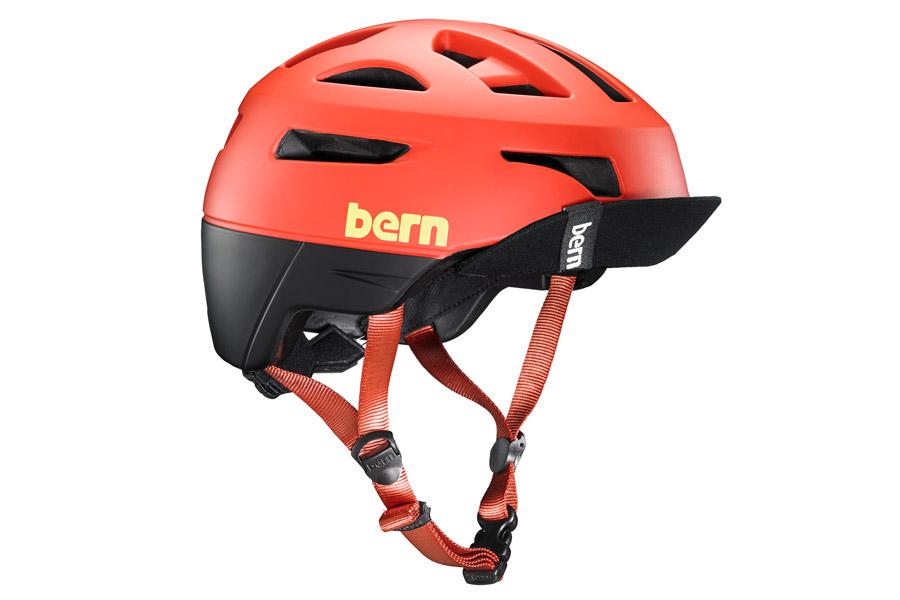 Bern Union Helm - Mat Rood