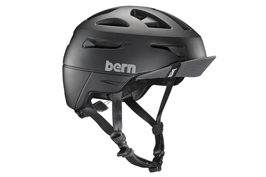Bern Union Helm - Mat Zwart