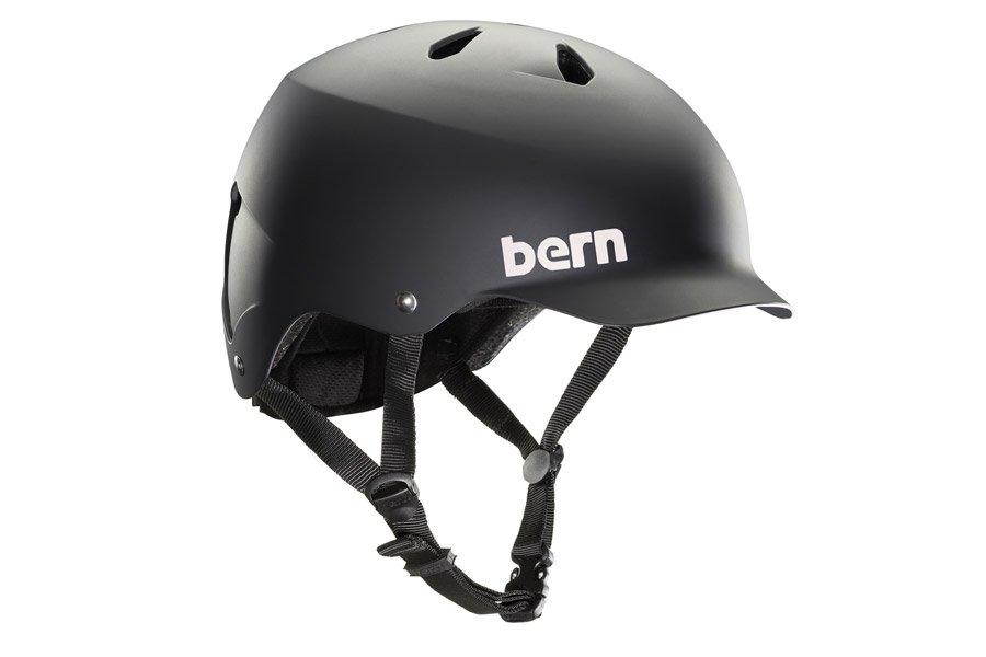 Bern Watts Helm - Mat Zwart