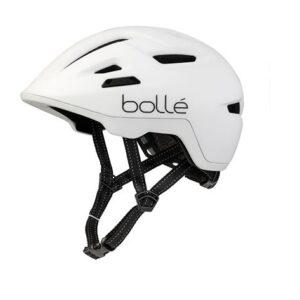 Bollé fietshelm Stance wit unisex maat 59 62
