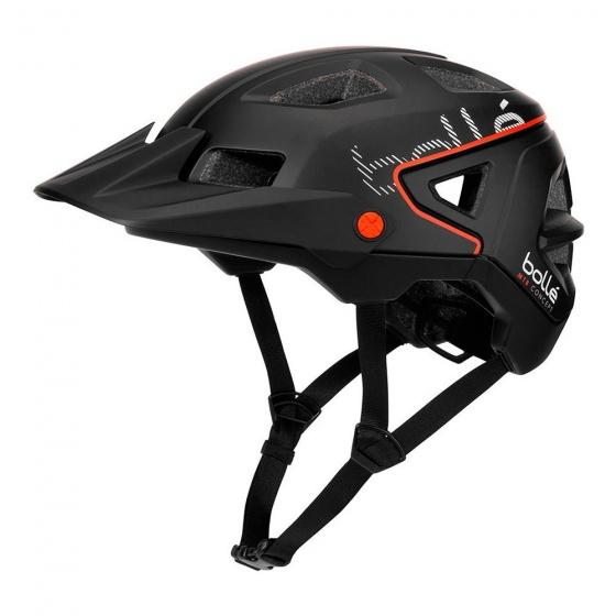 Bollé fietshelm Trackdown zwart unisex maat 52 55