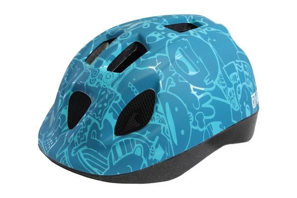 Cycle Tech fietshelm Happy junior blauw maat 46/53