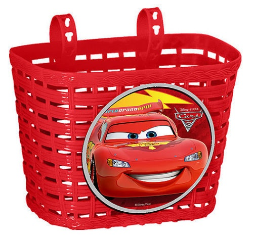 Disney fietsmand Cars rood 4 liter