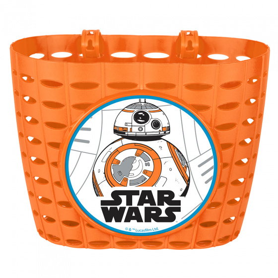 Disney fietsmand Star Wars BB8 junior 20 cm oranje