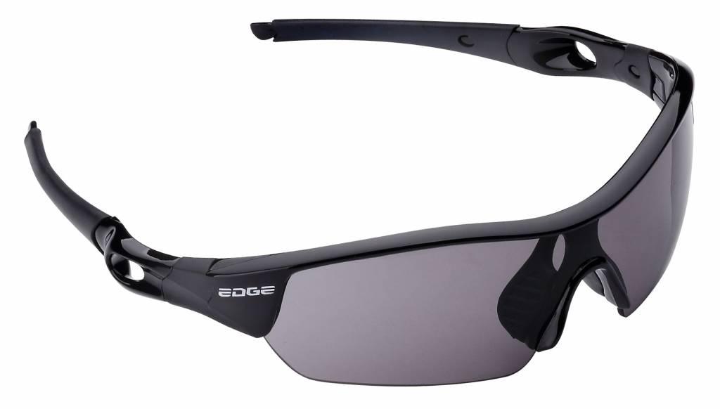 Fietsbril Edge Ventoux met etui en 4 lenzen - zwart