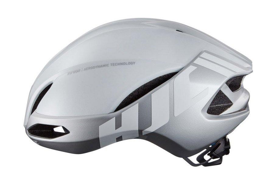 HJC Furion Helm Glossy Silver/White