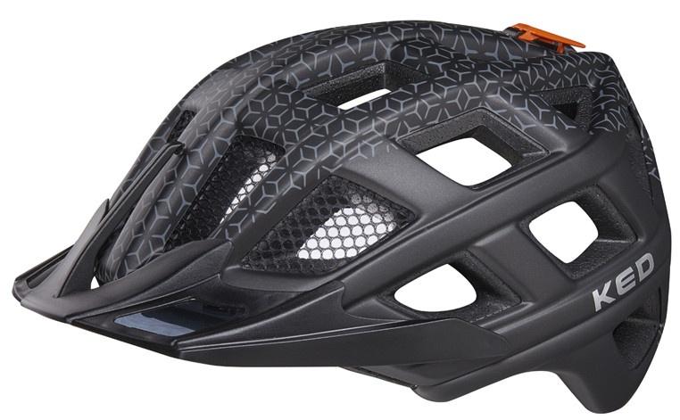KED fietshelm Crom unisex zwart maat 52 58 cm