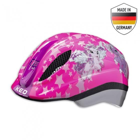 KED fietshelm Meggy II Originals meisjes roze maat 46 51 cm