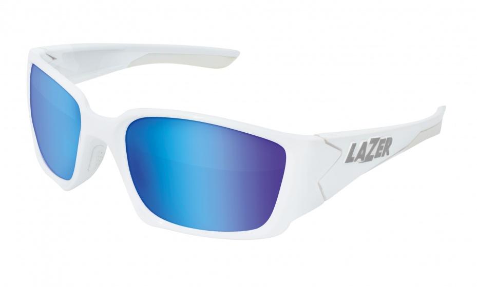 Lazer fietsbril Krypton KR1 unisex wit/blauw