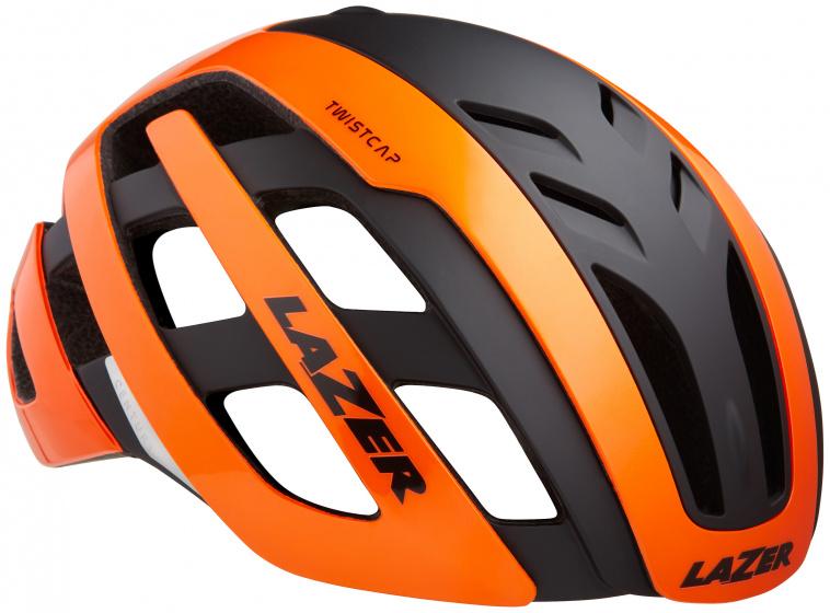 Lazer fietshelm Century Mips led unisex oranje/zwart maat 52 56 cm