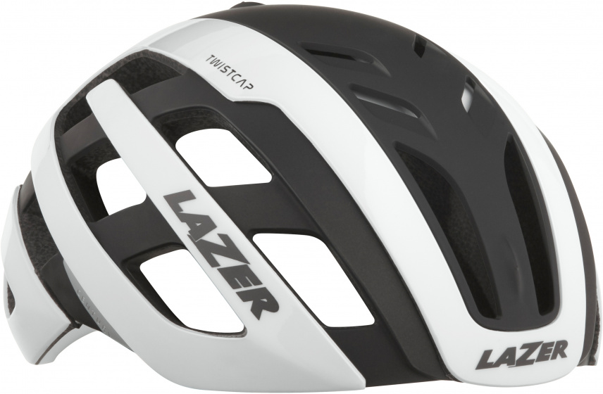 Lazer fietshelm Century Mips led unisex wit/zwart maat 52 56 cm