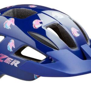Lazer fietshelm Lil Gekko Pony junior blauw/roze maat 46 50 cm