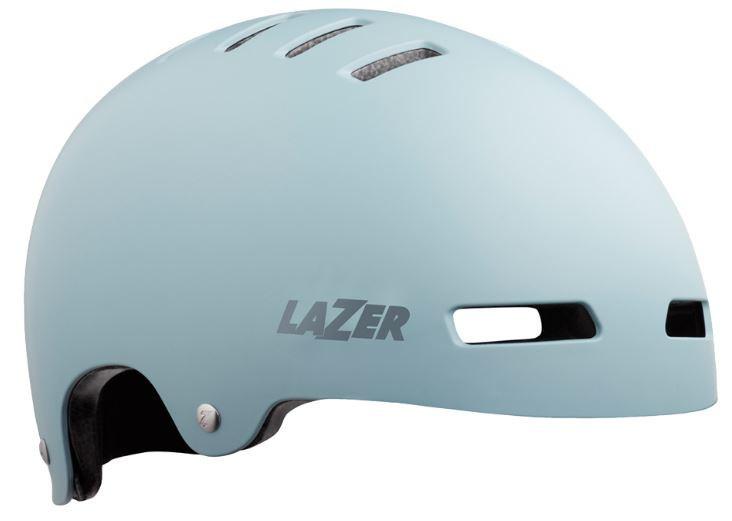 Lazer fietshelm One+ polycarbonaat blauw maat 58 61 cm
