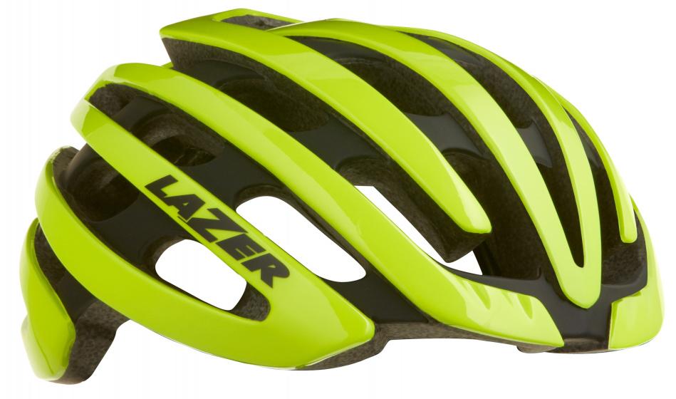 Lazer racefiets helm Z1 EPS schuim groen 4 delig mt S